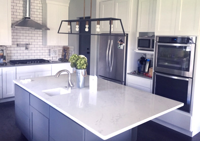 Kitchen Renovation & Construction in Farmington Hills MI | Balbes - kitchen-countertop-installation