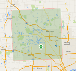 Home Additions & Remodeling West Bloomfield MI | Balbes Custom Building - map